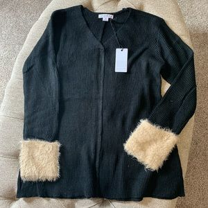 Love Riche Fur Trimmed Sweater